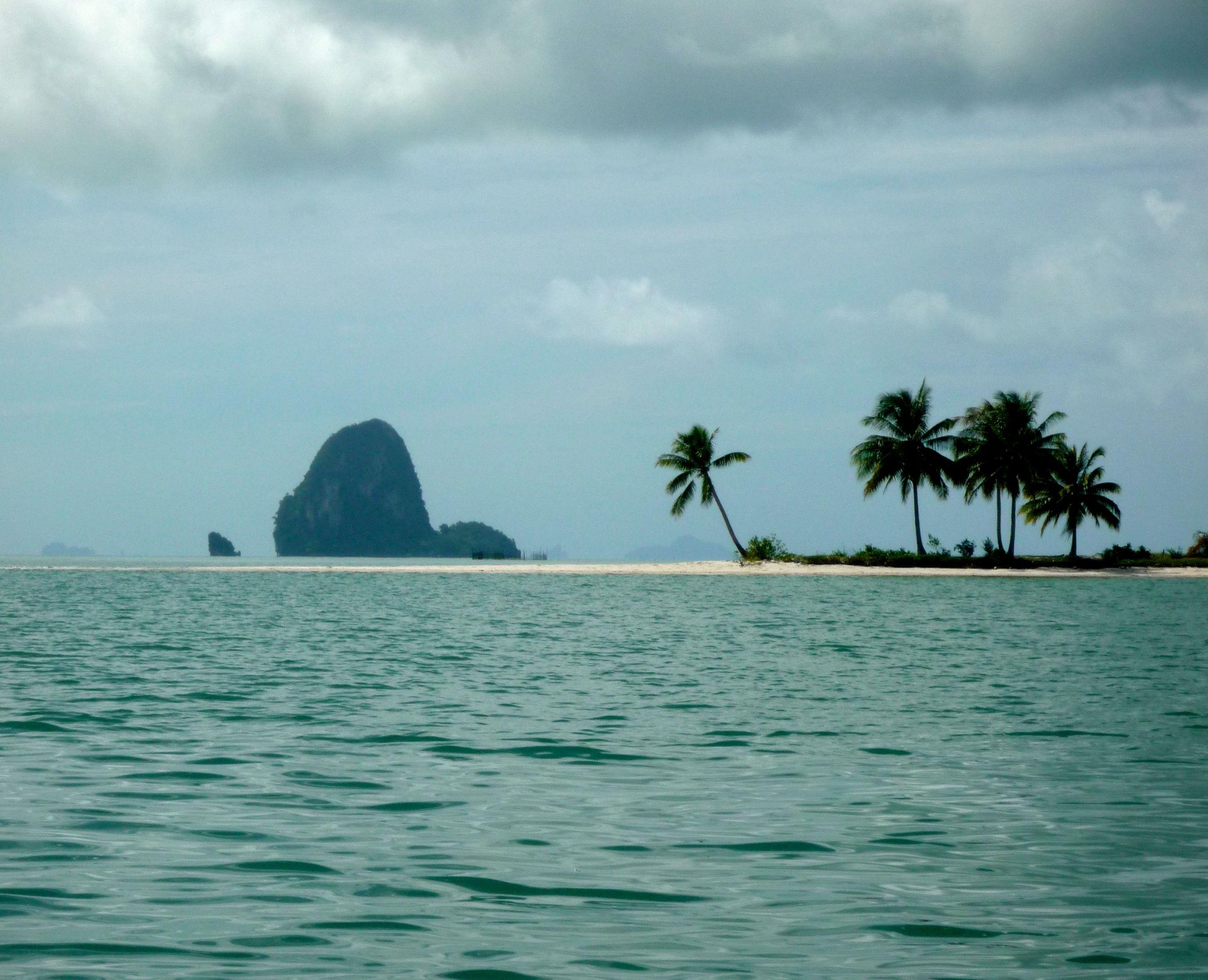 Onbewoond eiland bij Koh Yao Yai