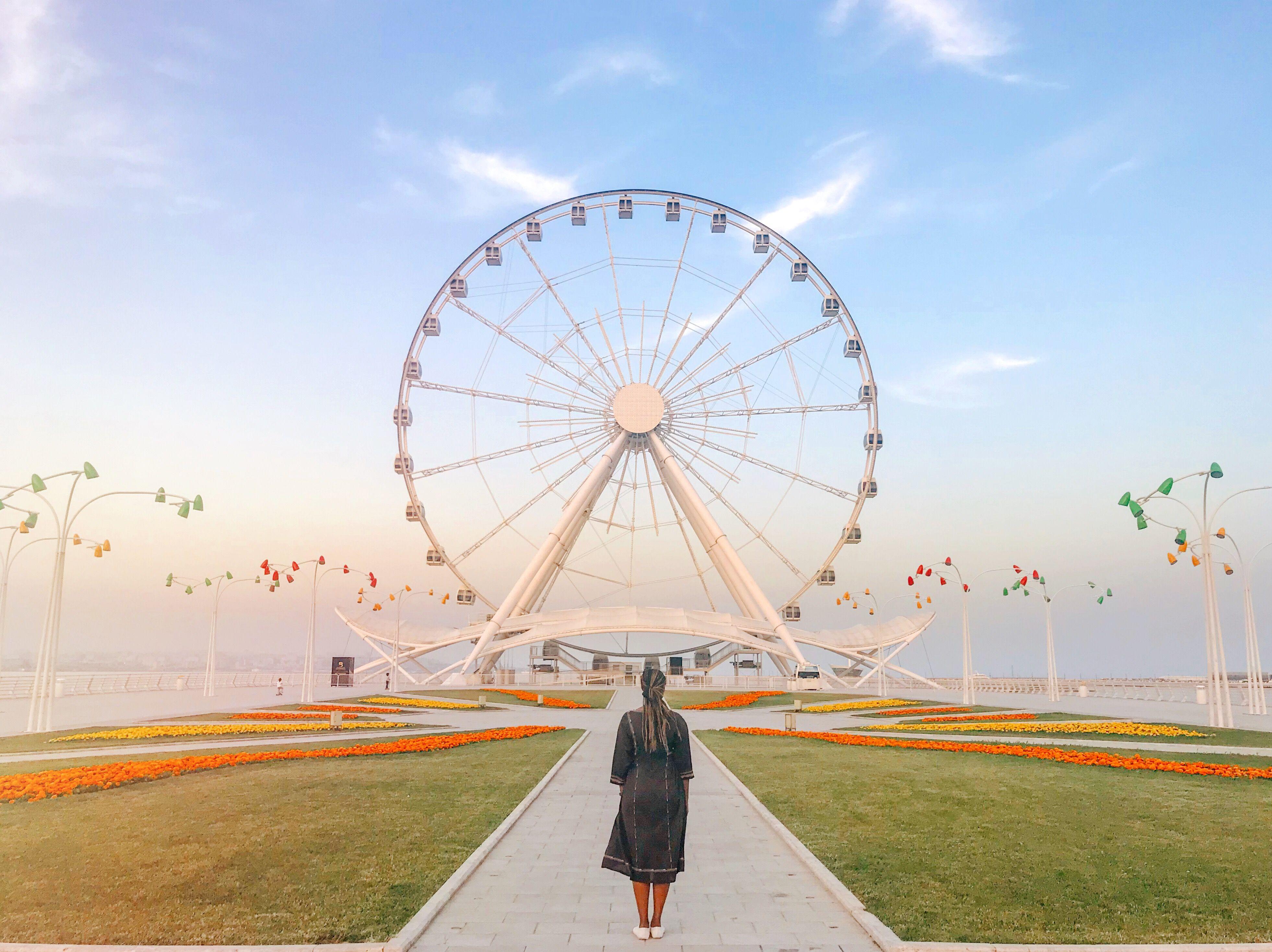 Baku Eye Azerbaijan Fair Grounds Asia Grounds