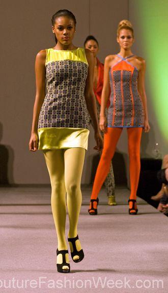 #moteuke #couture #stil #design #modell #kvinne #mote #fashion #2013 #josephdomingo #kjole #farger #neon
