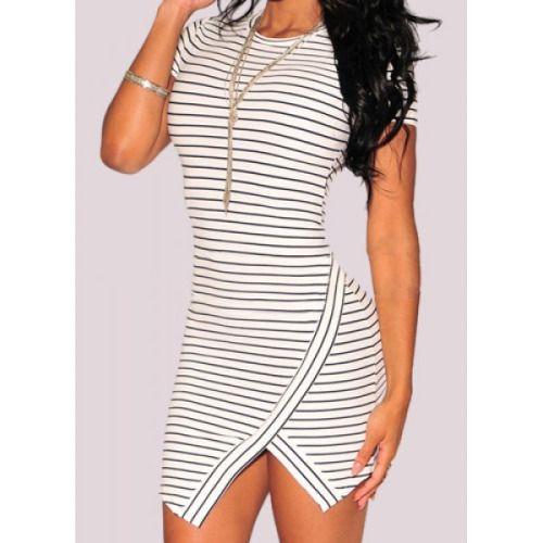 Stripes dress Source:nastydress.com