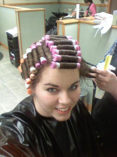 Beauty salon fetish