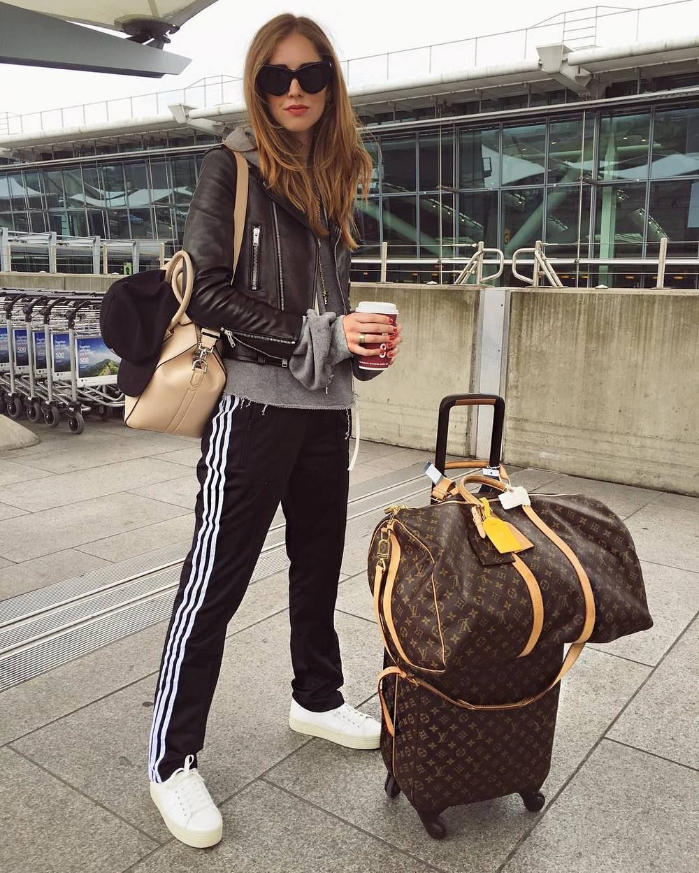 Chiara Ferragni's Casual Chic Airport Style Is Everything