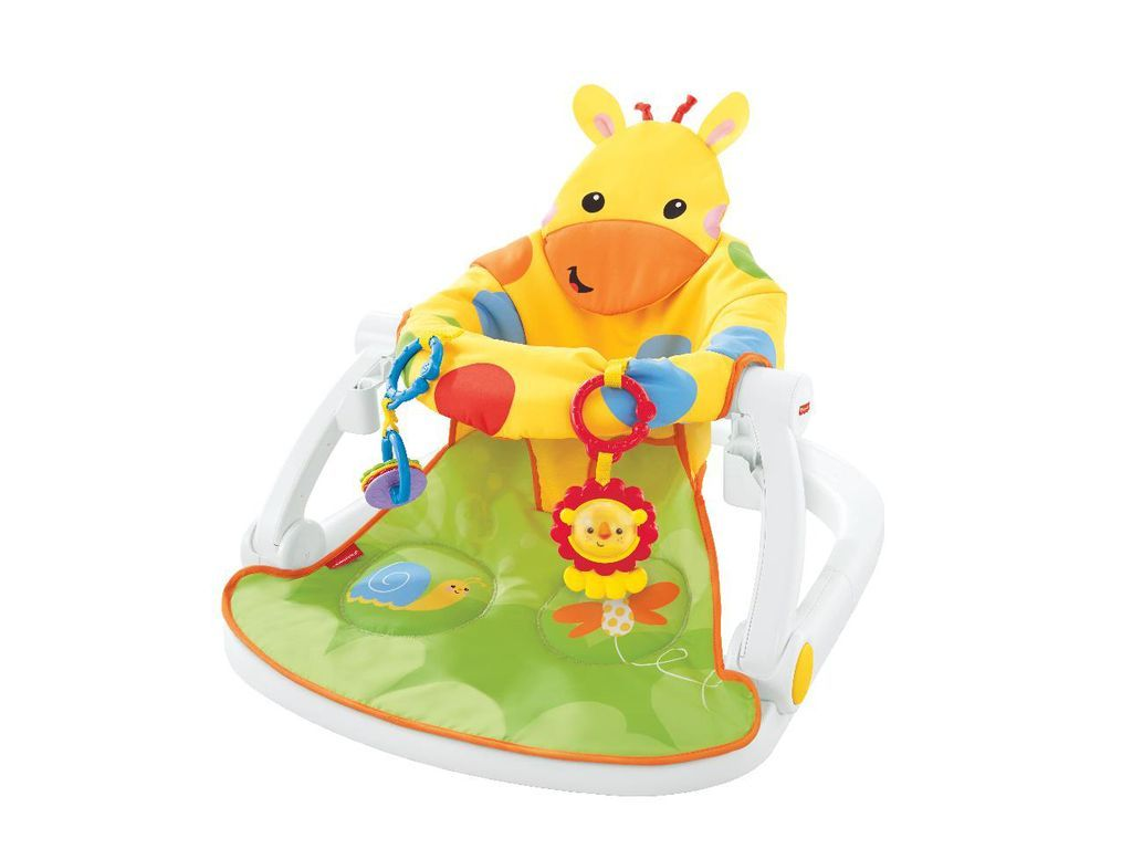 Fisher Price Sit Me Up Floor Seat With Tray Toys Play Baby