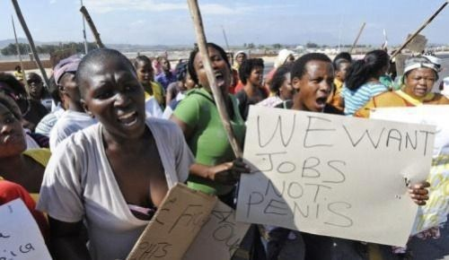 Protest South African style!