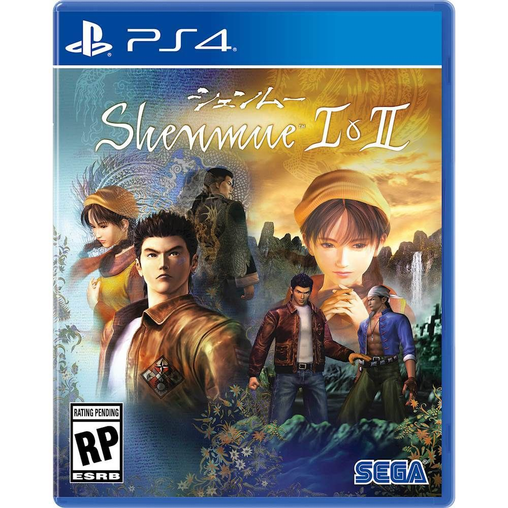 Shenmue I & II Launch Edition PlayStation 4 Xbox one