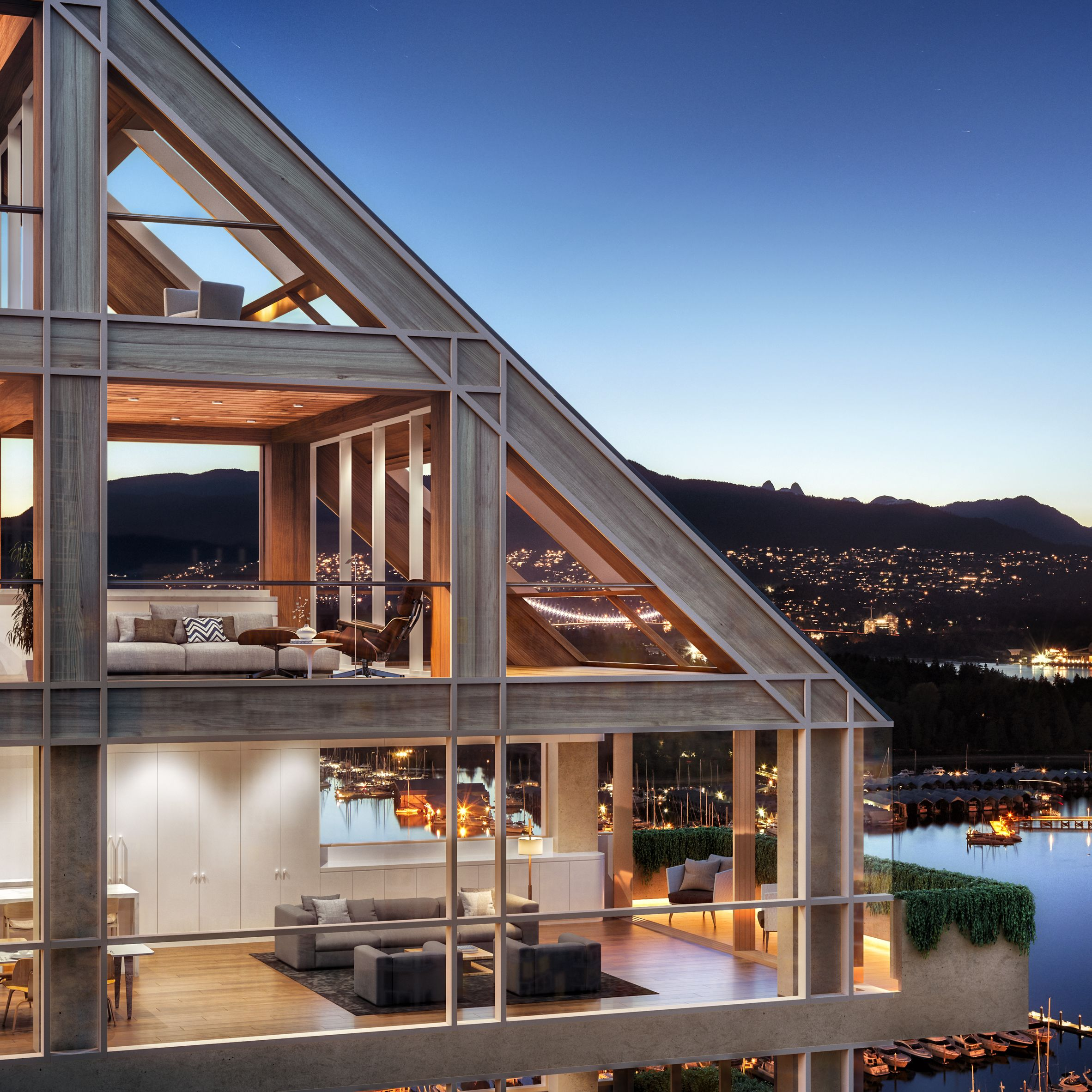 Attractive These New Images Offer A Glimpse Inside Japanese Architect Shigeru Banu0027s  Terrace House In Vancouver,