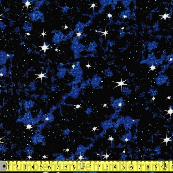 In Space Galaxy Stars Blue
