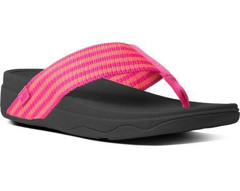 7dda10f5b9000 FitFlop Women s Surfa Flip Flops