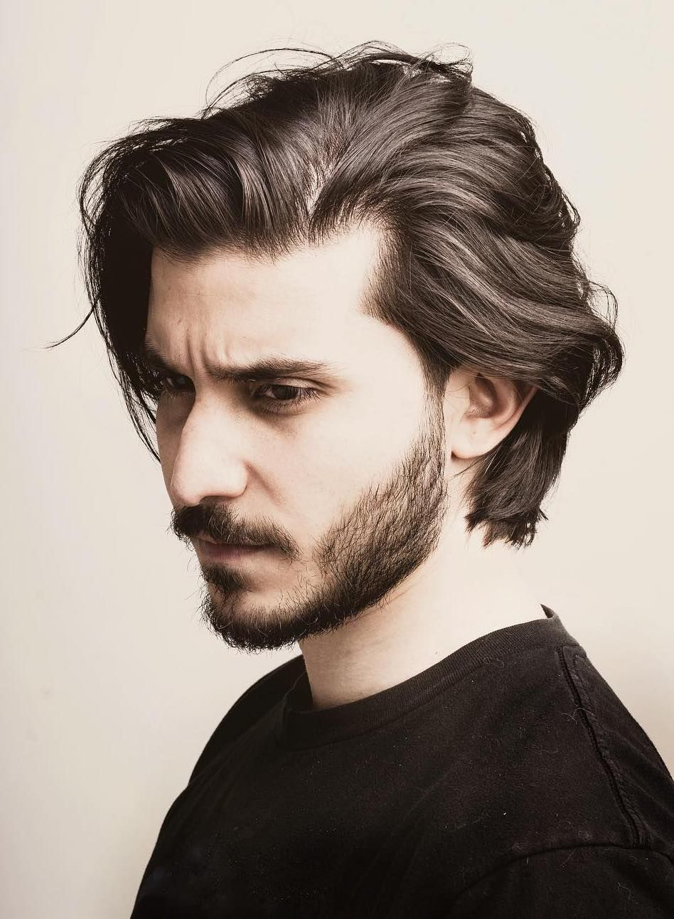 Handsome And Cool The Latest Men S Hairstyles For 2019 Latest Men Hairstyles Long Hair Styles Men Medium Length Hair Styles