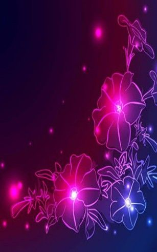 orchids neon wallpapers - Google Search | Flowers | Neon ...