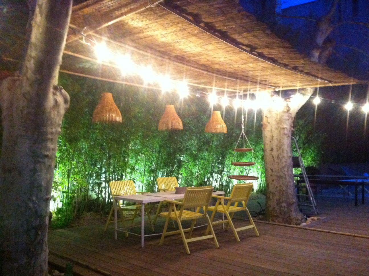 pergola en bambou et canisse | outdoor | Pinterest | Bedrooms