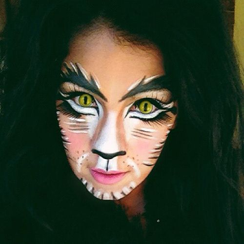 Cat Makeup. | Things to Try :) | Pinterest | Makeup, Halloween ...
