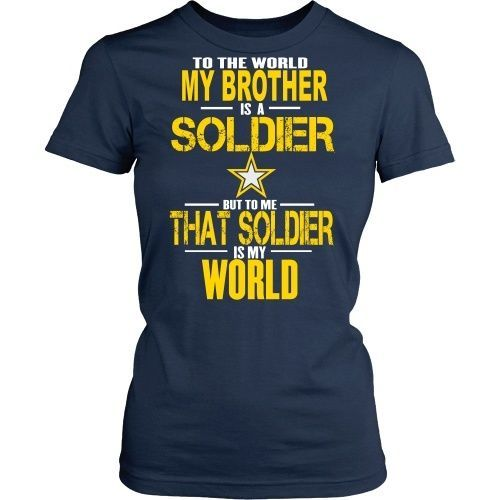 Army - To the world my brother is a soldier - Front