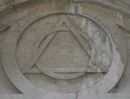 Simboli massonici-templari - Chiesa della Maddalena - Venezia  #TuscanyAgriturismoGiratola