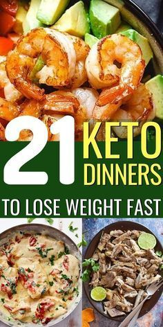 21 Easy Keto Dinner Recipes to Lose Weight #nocarbdiets The Ketogenic Diet is in…