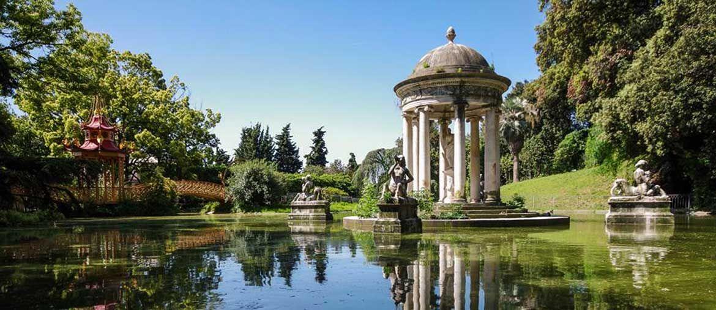 Uno scrocio del parco di Villa Durazzo Palavicini a Pegli, in Liguria (PHIl Parco più Bello)