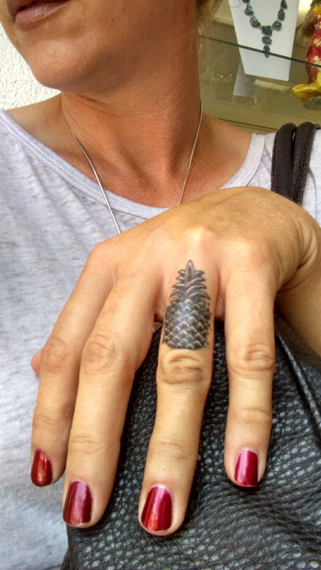 Ring Tattoo Cover Up : tattoo, cover, Pineapple, Finger, Tattoo., Tattoo, Cover-up, Cover, Tattoos,, Women,, Tattoos