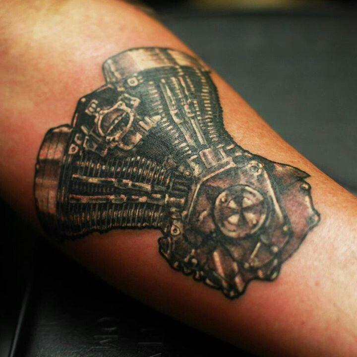 Tattoo Designs Engine: Harley Engine Tattoo