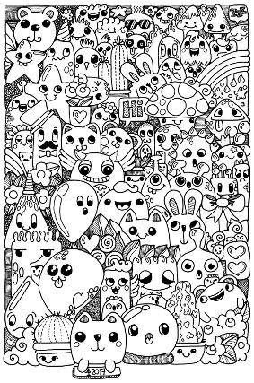 Doodle Art Doodle Drawings Doodle Art Drawing