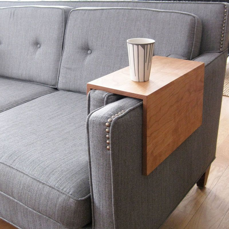 What Is A Couch Sleeve Arm Rest Table Space Saving Furniture Couch Arm Table