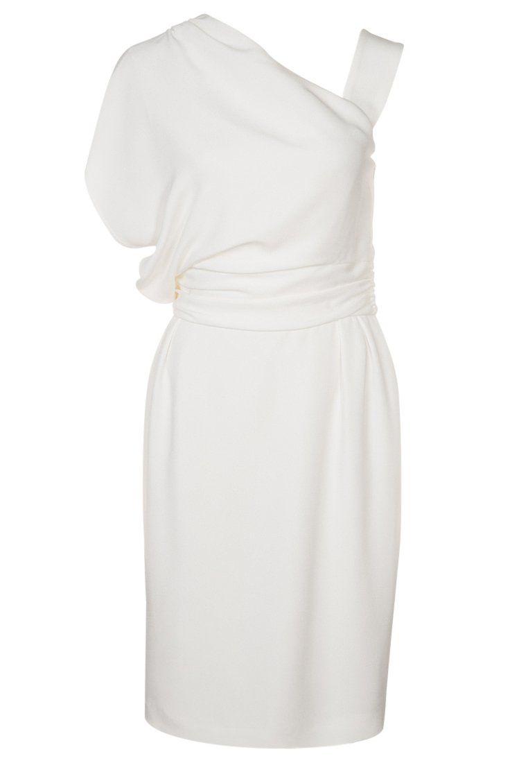 check out 5c467 d6c49 Kleid Festliches Escada Debrona Weiß Cocktailkleid uiwOkXZTP