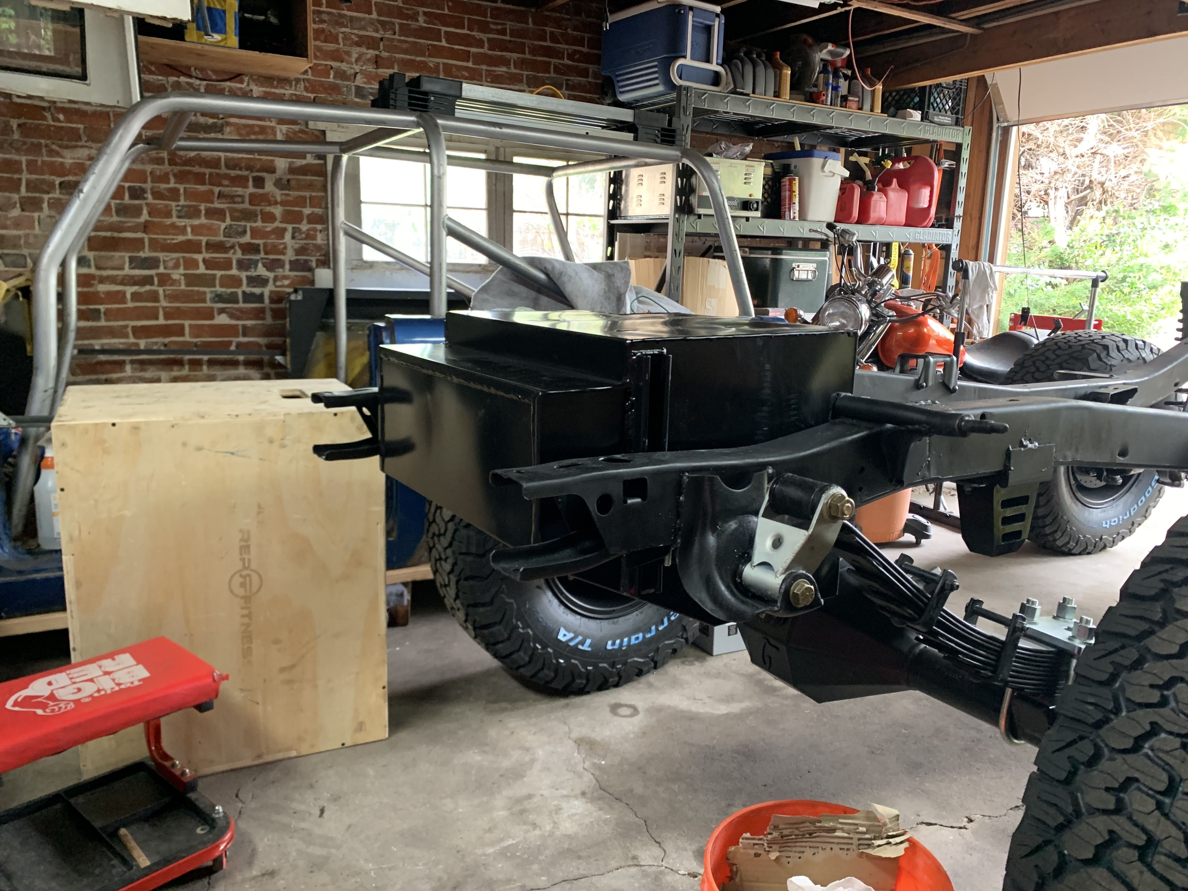 23 Gallon Tank Bc Broncos Early Bronco Bronco Restoration