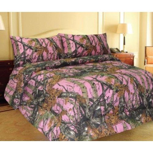 Pink Camo Realtree Bedding Perfect For Girls Who Love Camo Or