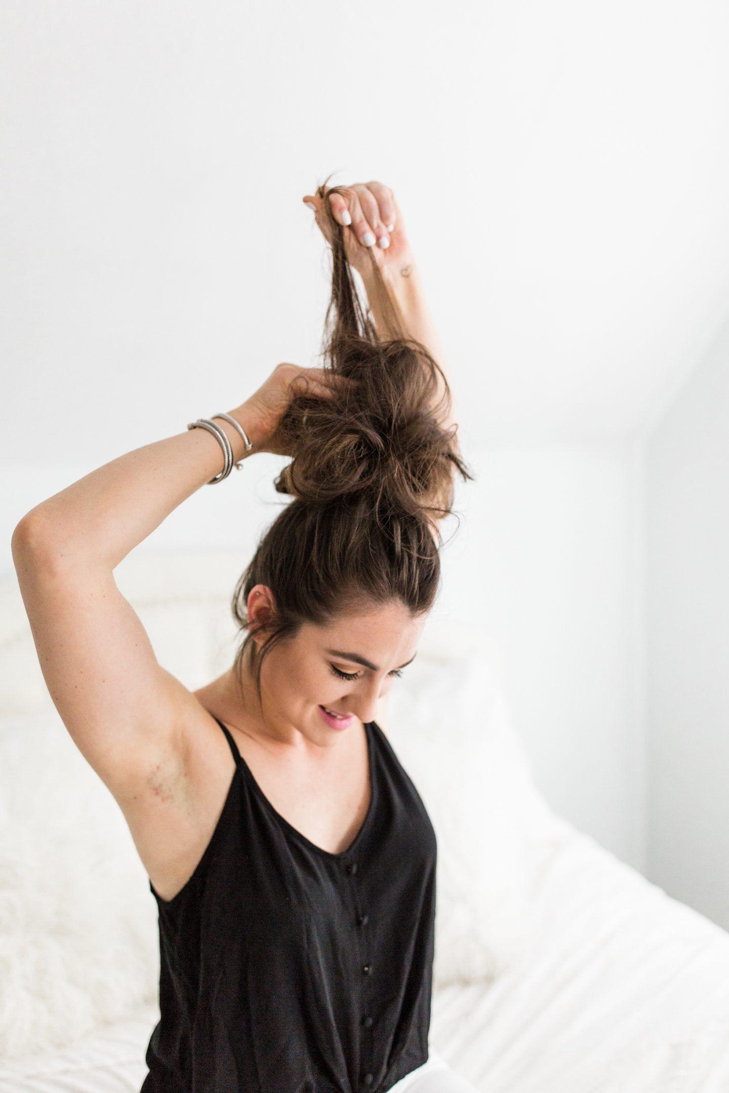 Everyday Topknot Tutorial Hair Styles Hair Styles Spring