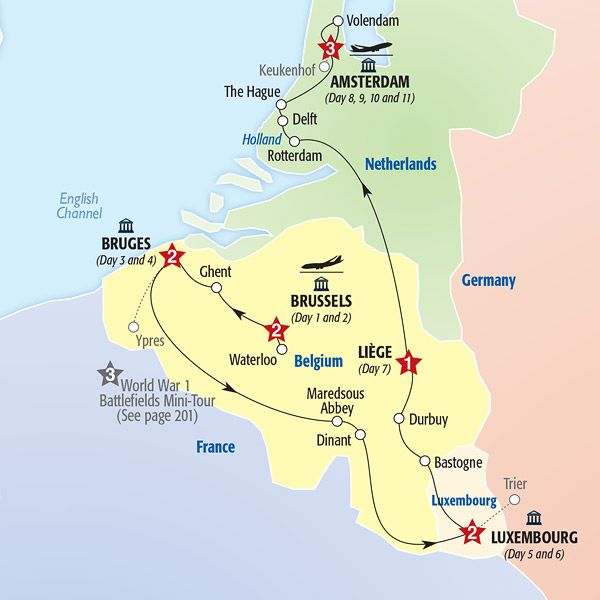 Map of tour route tours pinterest european travel vacation map of tour route tours pinterest european travel vacation and belgium publicscrutiny Image collections