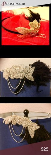 Great Gatsby Party Headpiece Hair Hoop  BUNDLE  and save. NEW  One of stun #1920shairstyles