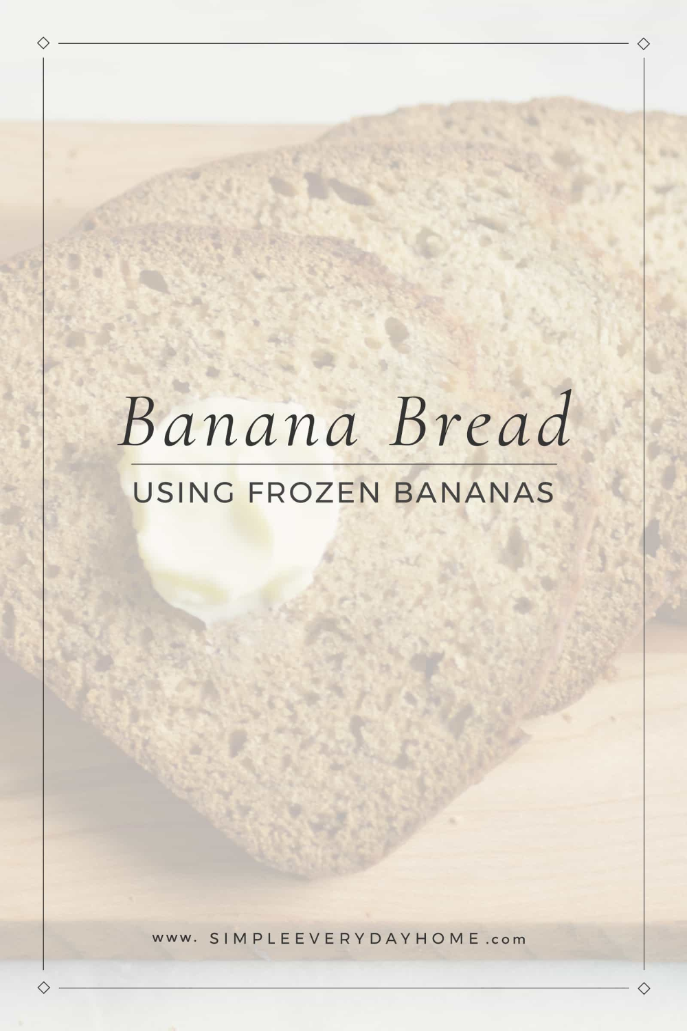 Banana Bread Recipe Using Frozen Bananas | Easy and Delicious Recipe