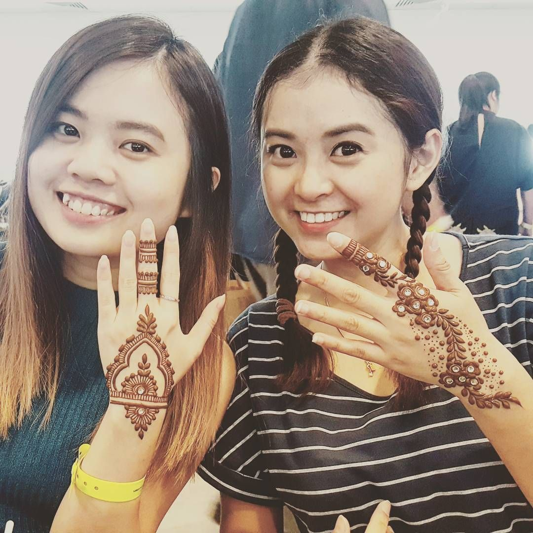 Day Two Of Coffee Fest Is Now Complete Here S To Friends Getting Henna Ed Together Lovely Two More Days Till Sg Coffee Fest Ends Henna Hennain I 2020