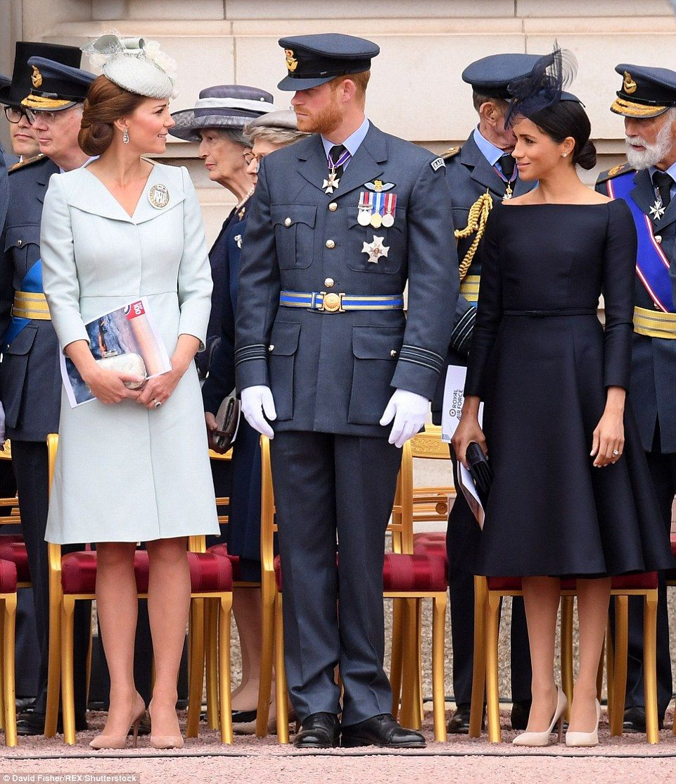 Meghan Puts On A Confident Display On The Buckingham