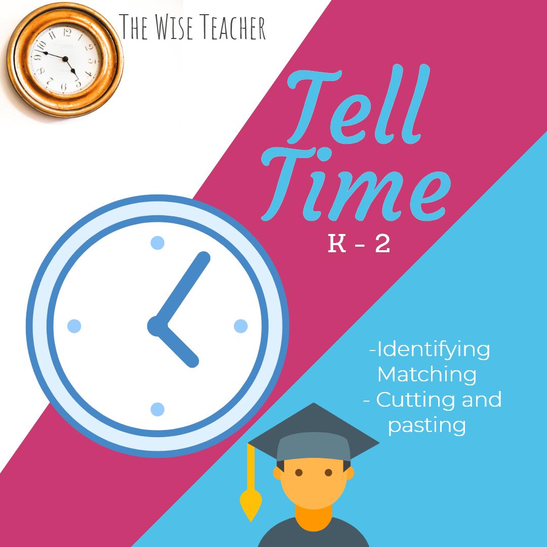 Tell Time K 3