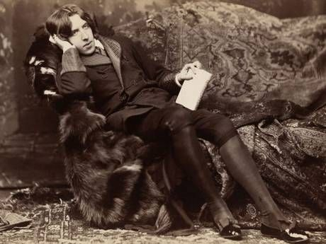 In his own words: Oscar Wilde in 1882 (Heritage Images)