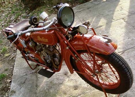 Photo Of 1927 Indian Scout With 600cc V Twin Flathead Engine By Ben From Antwerp Indian Scout Indian Motorcycle Scout Indian Motorcycle