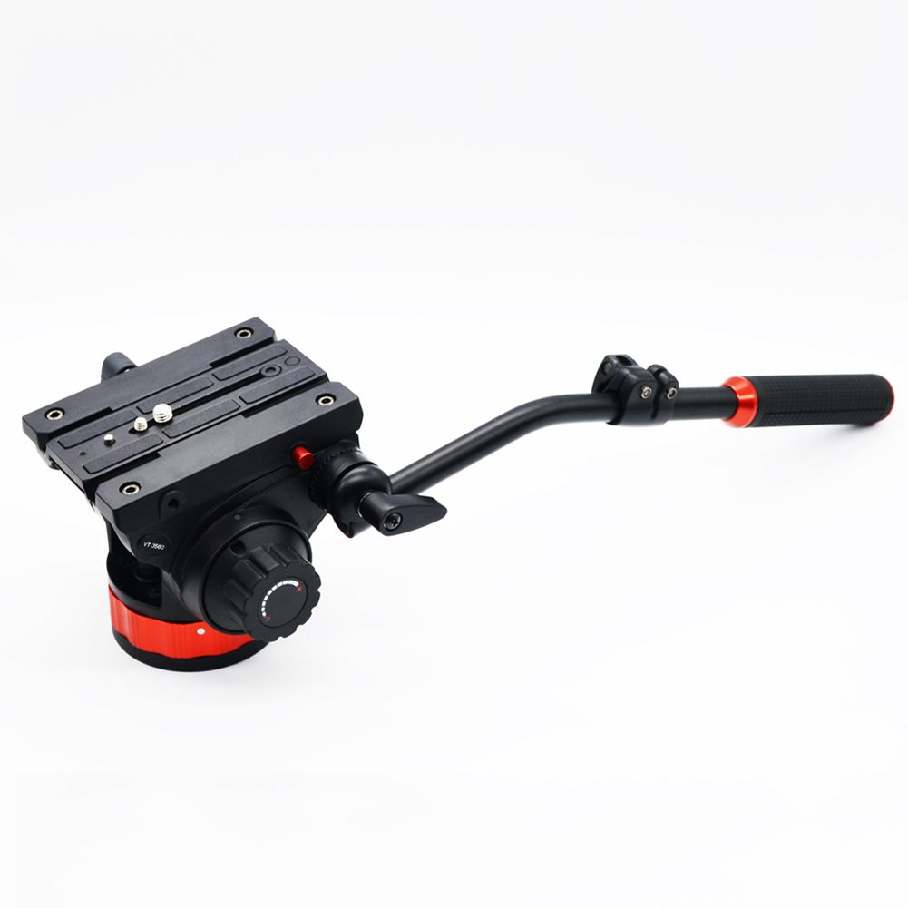 $273.34 (Buy here: http://appdeal.ru/drx4 ) Veledge 502AH with 504plong QR Plate Pro Fluid Video Head for Manfrotto Tri #LD456 for just $273.34