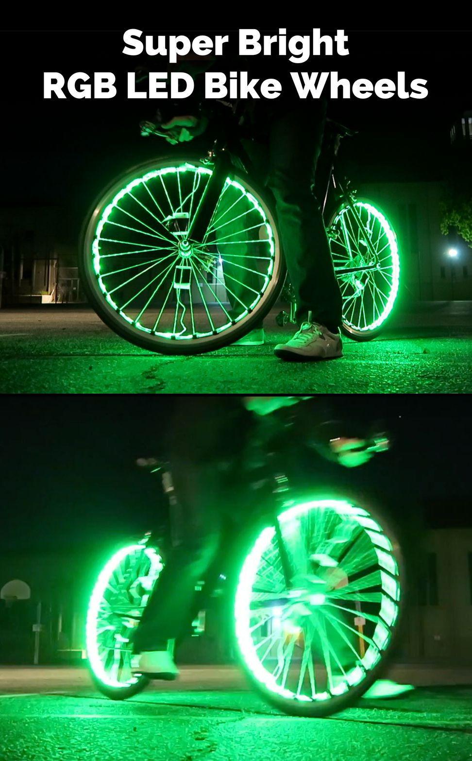 Super Bright Rgb Led Bike Wheels Bike Lights Led Bike Wheel