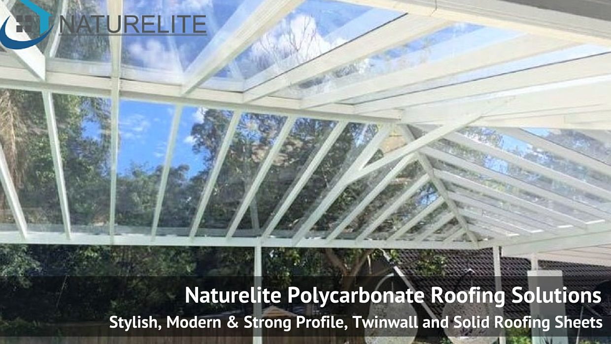 Polycarbonate Roofing Sheets | OUTDOOR LIVING SPACE | Outdoor living