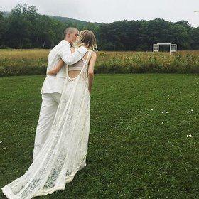 Hanne Gaby Odiele Wears Balenciaga to Her Wedding in Update New York - Vogue