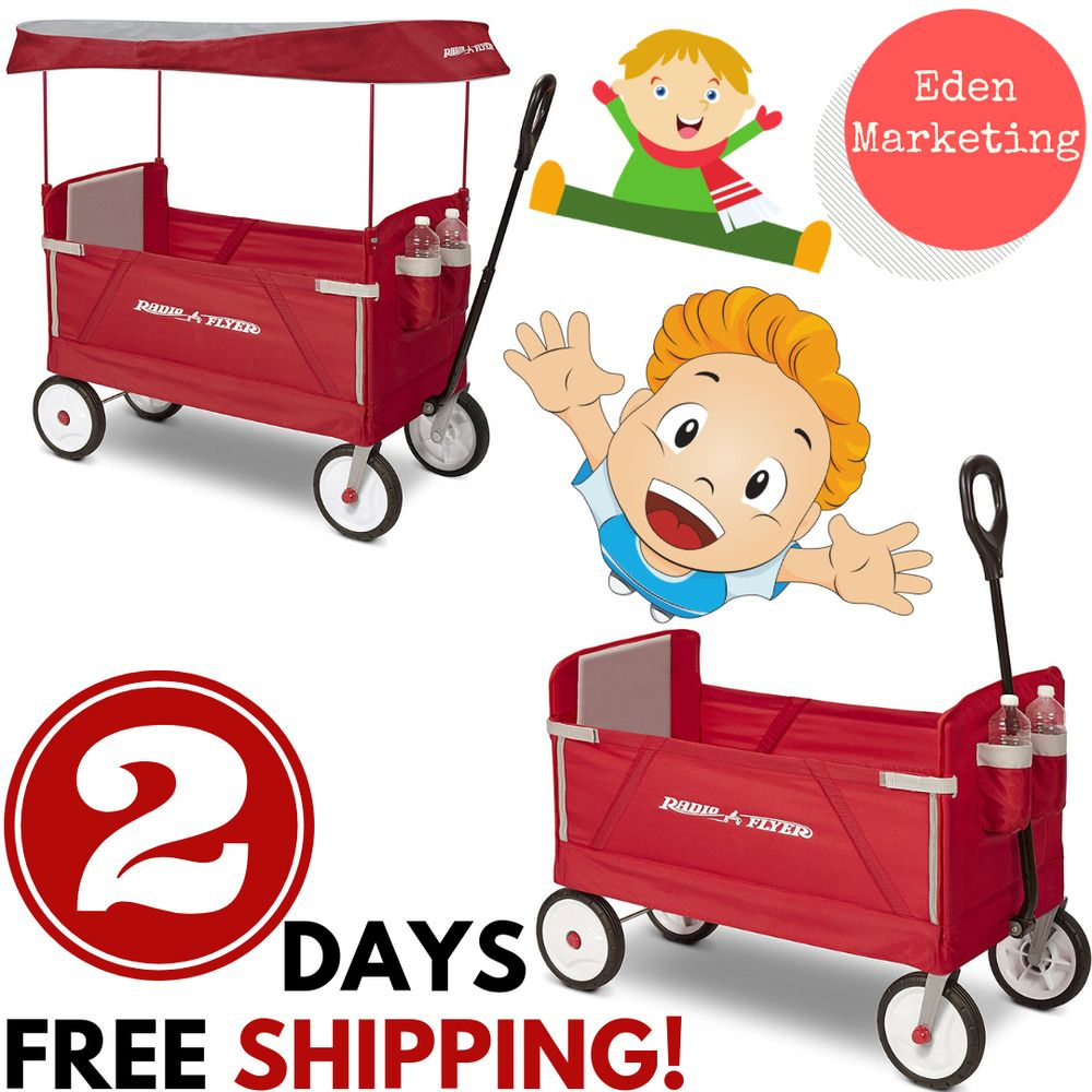 Radio Flyer Best Ride EZ Folding Wagon for kids and cargo