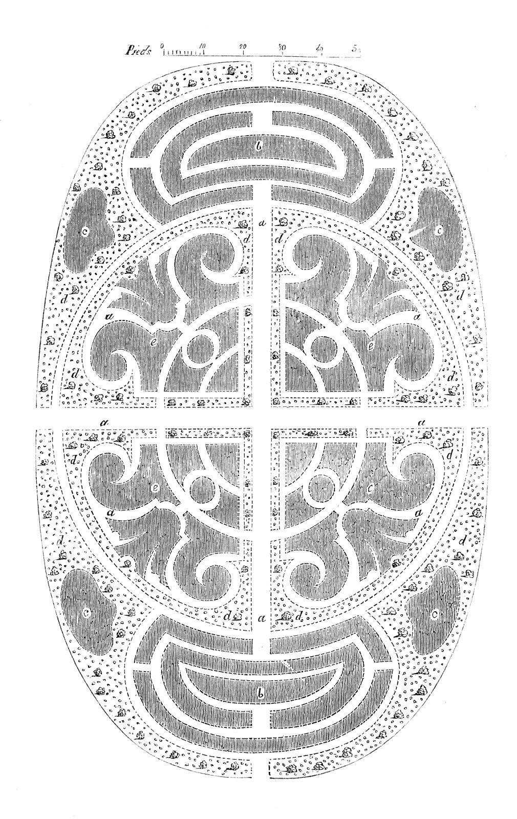 Free vintage printable garden plan | Drawing garden | Pinterest ...