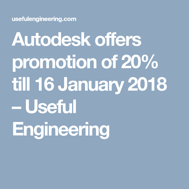 Autodesk Promotions Products Price S Under 5 Euro Avec Images
