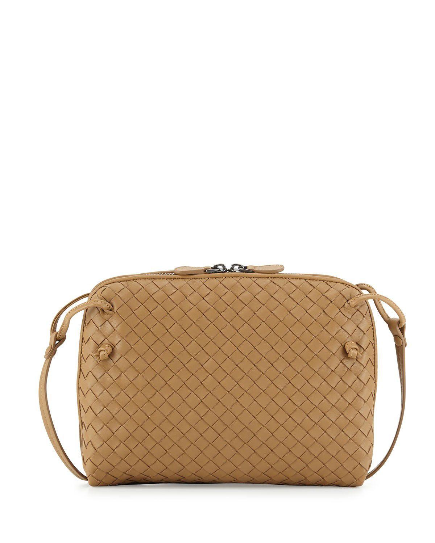 34e204b870f3 cheap Bottega Veneta Veneta Small Crossbody Bag Camel sales online ...