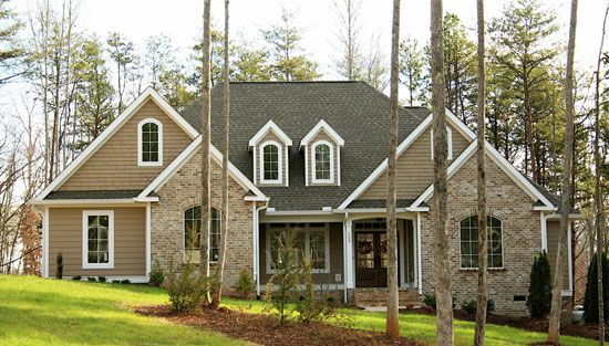 Pin By Melanie Fuhrman On Exterior Front Door Brick Exterior House House Exterior House Plans