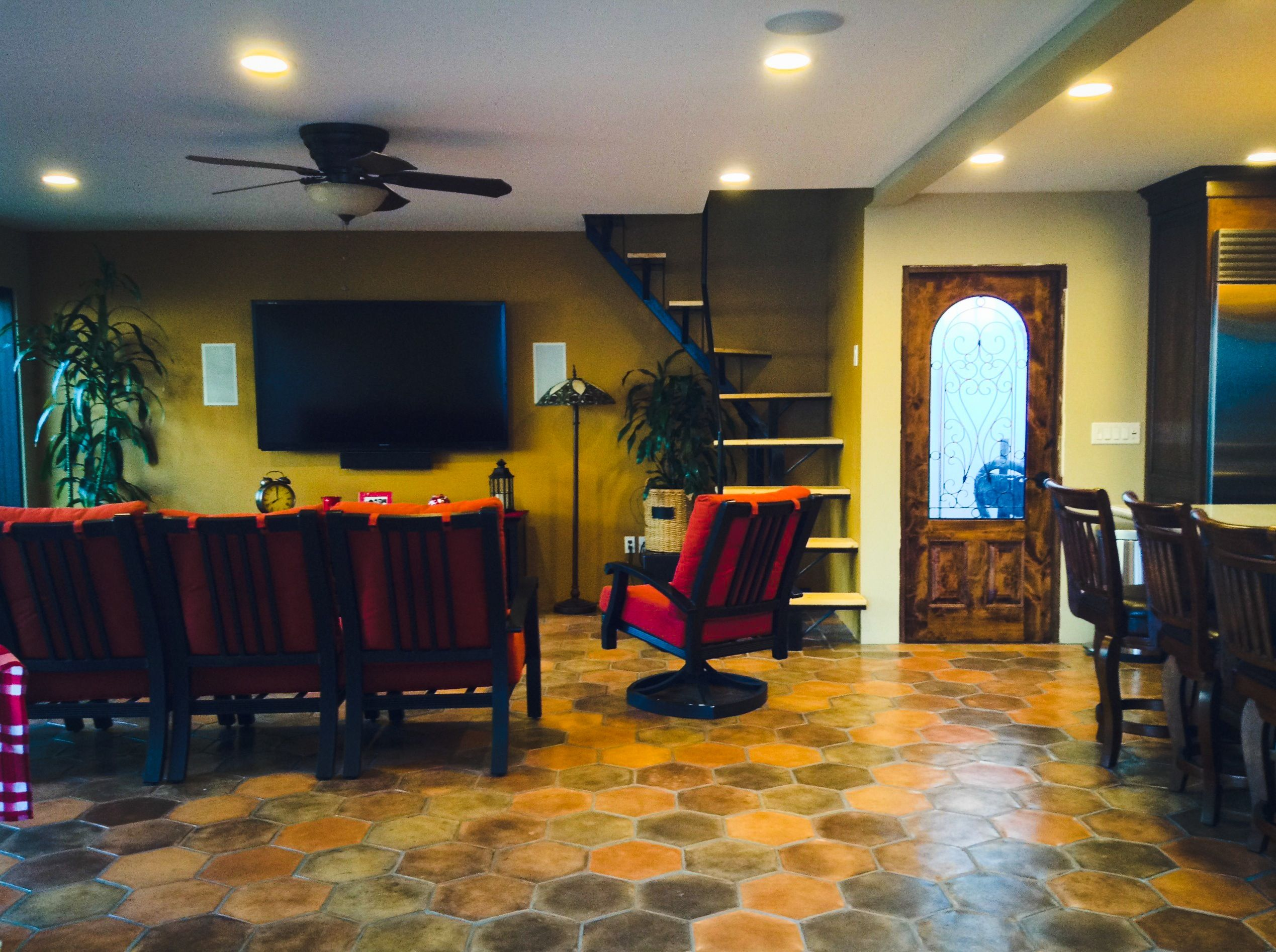 Westgate Ave Remodeled The Garage Into An Entertainment