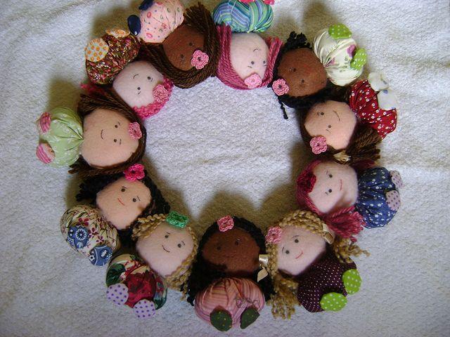 Bonecas de fuxico | Flickr – Compartilhamento de fotos!