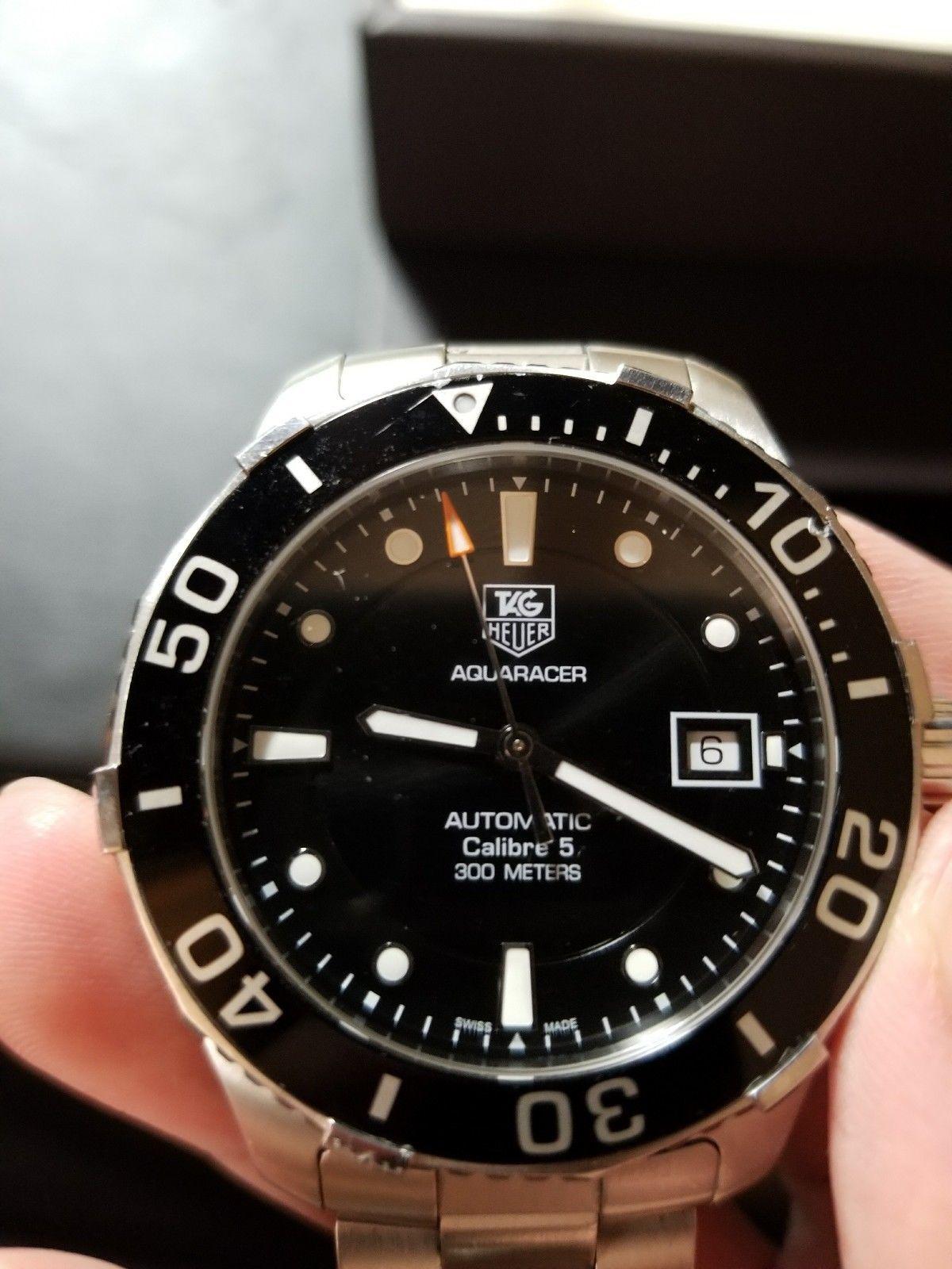 use code*** Tag Heuer Aquaracer WAN2110.BA0822 Wrist Watch for Men