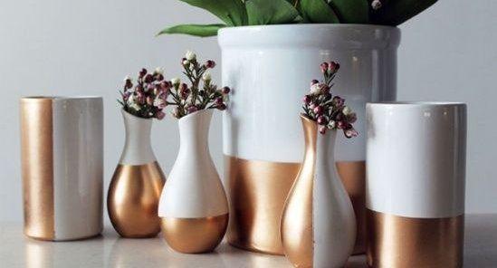 DIY : céramique et cuivre   Home sweet home   Deco cuivre