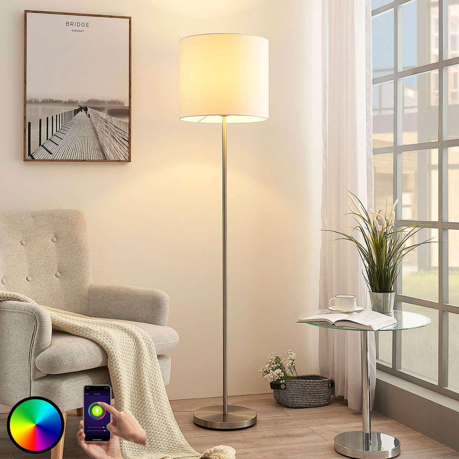 Lindby Smart Led Vloerlamp Everly App Rgb In 2020 Lampenwelt Intelligente Psychologisch